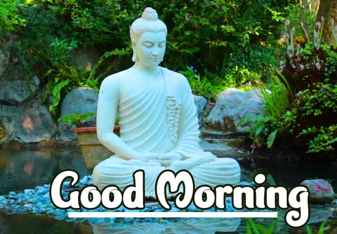 Buddha Good Morning Image HD