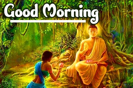 Buddha Good Morning Pic