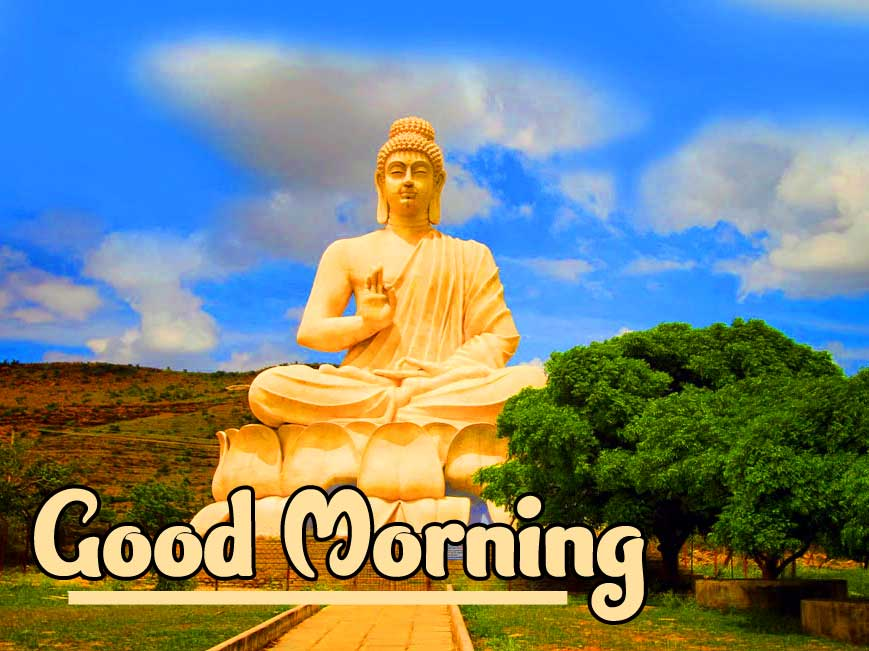 Buddha Good Morning Pic HD