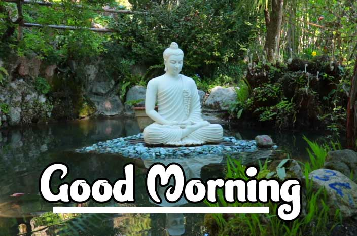 Buddha Good Morning Picture