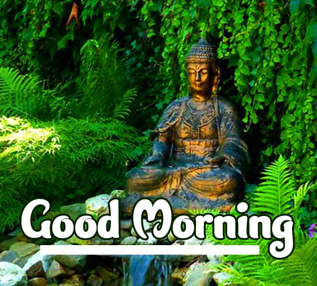 Buddha Good Morning Wallpaper HD