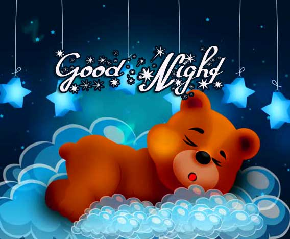 Cute Teddy Bear Good Night Image