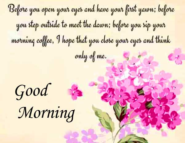 Floral Good Morning Wishing for Wife Copy Copy