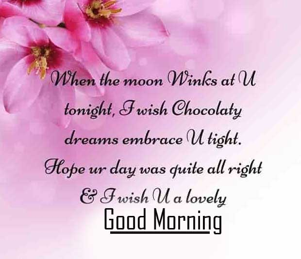 Flower Quote for Wife with Good Morning Wishing HD Copy Copy