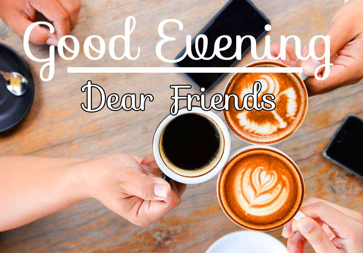 Friends God Evening Image
