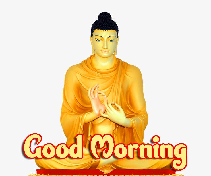 Gautam Buddha Good Morning Image
