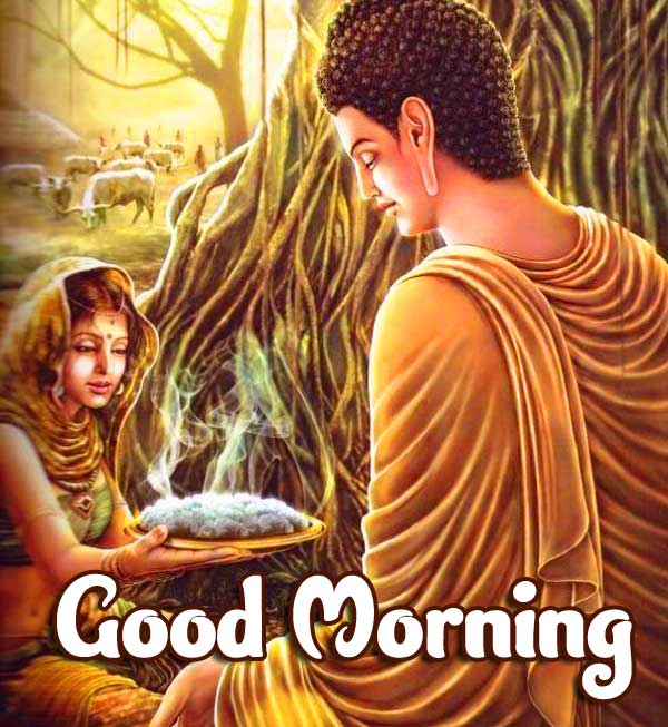 Gautam Buddha Good Morning Pic HD