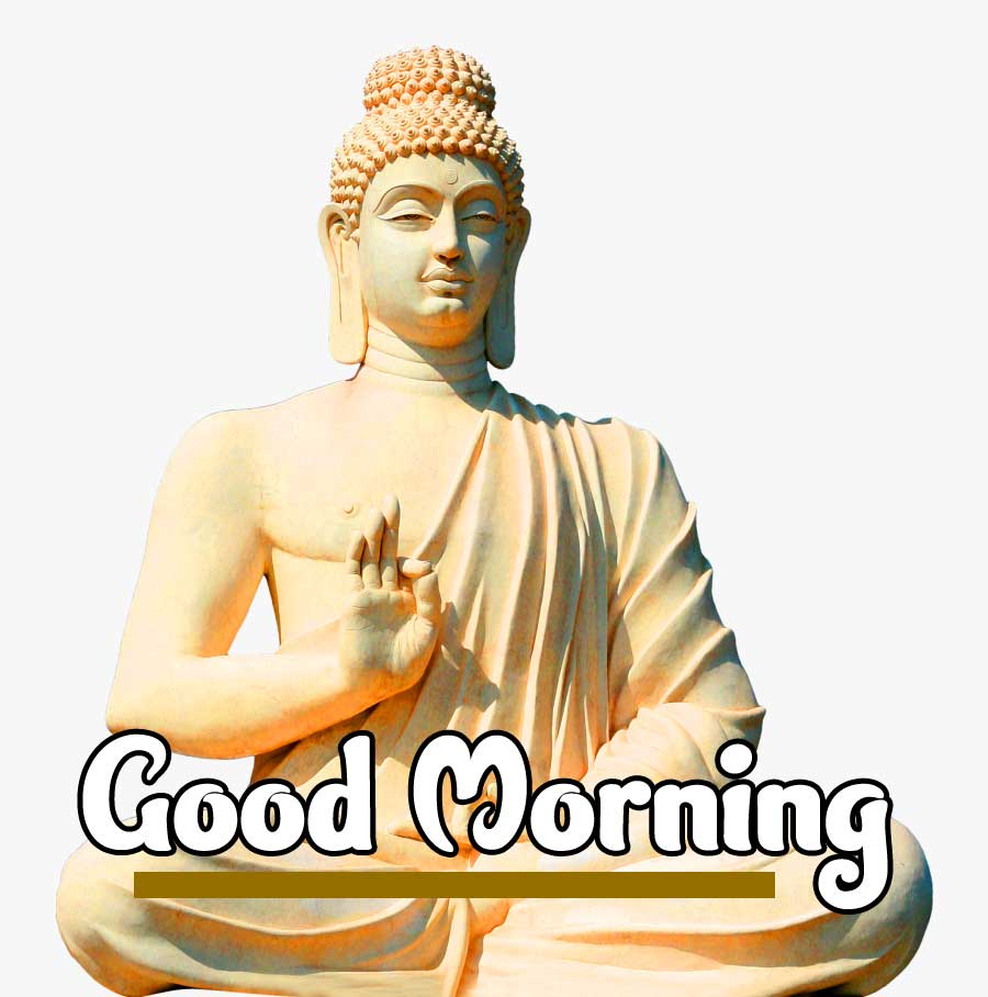 Gautam Buddha Good Morning Picture