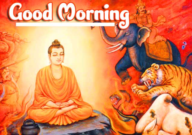 Gautam Buddha Good Morning WallPaper HD