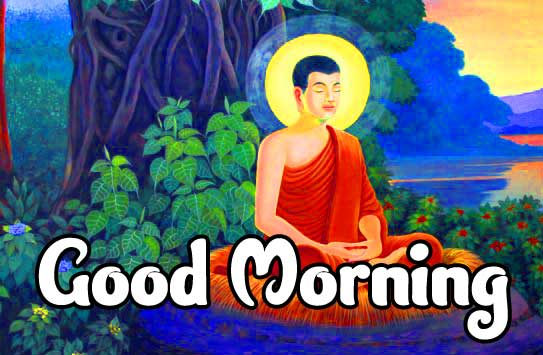 Gautam Buddha Good Morning Wallpaper