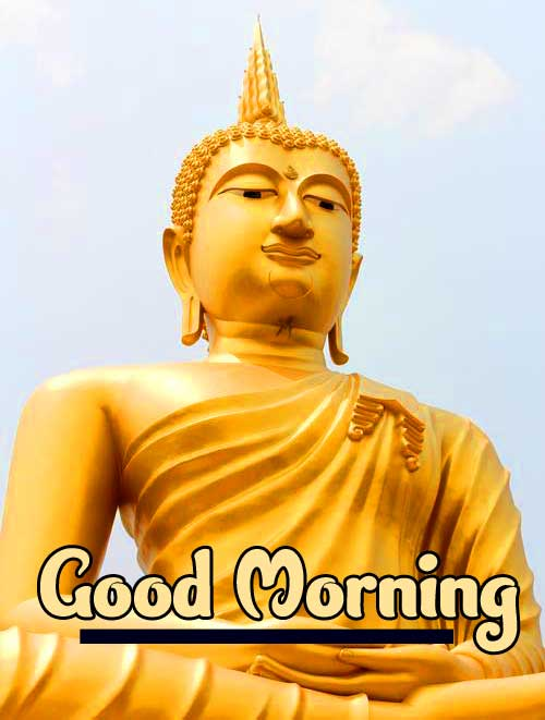 Gautam Buddha Good Morning Wish Image HD