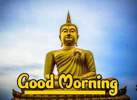 Gautam Buddha Good Morning Wish PIC