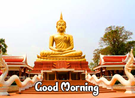Gautam Buddha Good Morning Wish Pic HD