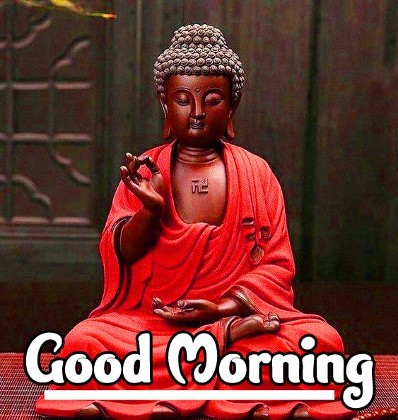 Gautam Buddha with Happy Day Wishing