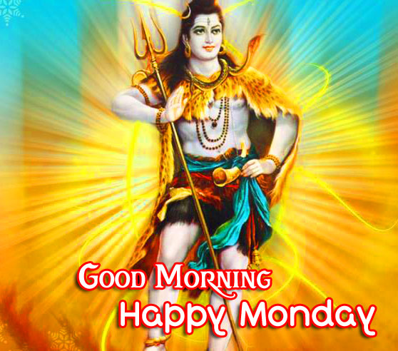 God Shiva Good Morning Happy Monday Photo