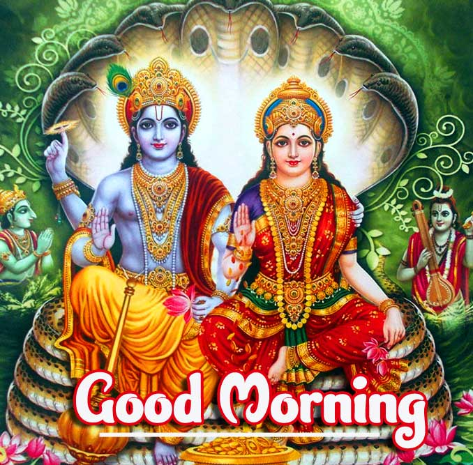God and Goddess Good Morning Picture