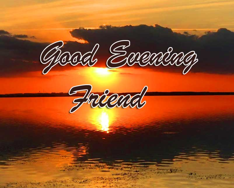 Good Evening Friend Wallpaper and Picture
