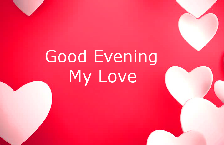 Good Evening Red Wallpaper Image