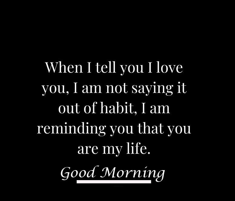 Good Morning I Love You Pic