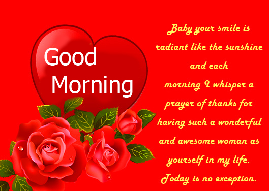 Good Morning Quoted Love Pic