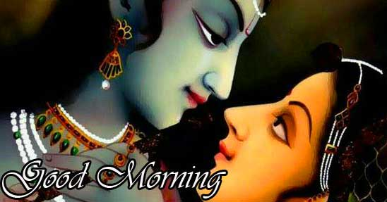 Good Morning Radha Krishna Image
