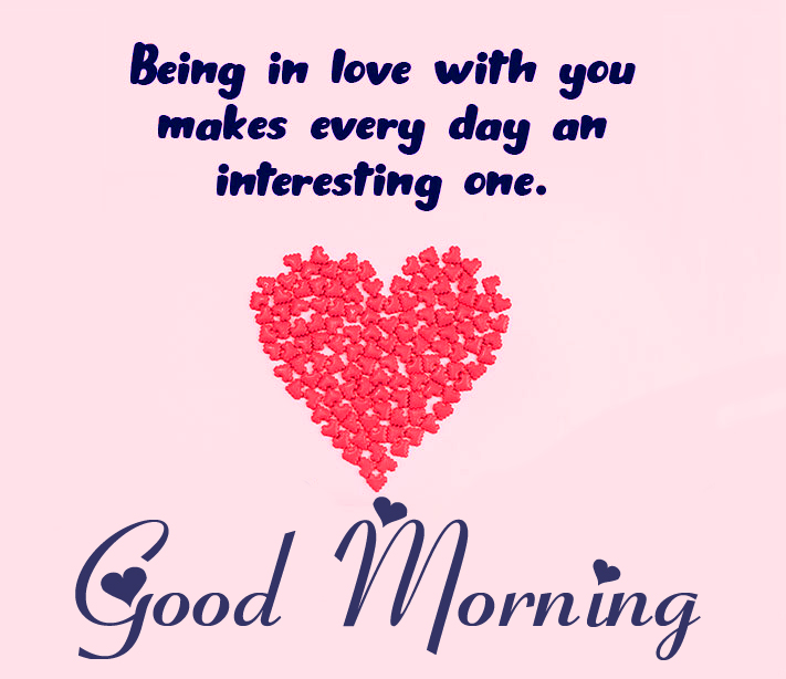 Good Morning with Deep Love Quote