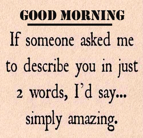 Good Morning with Love Quote