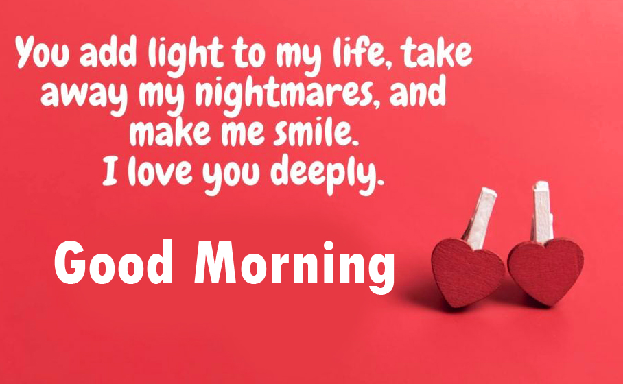 Good Morning with Two Hearts
