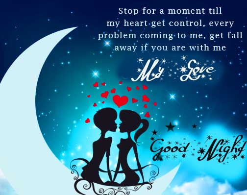Good Night Message Quote Image