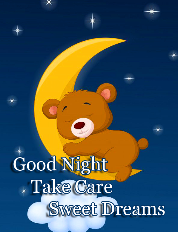 Good Night Teddy Bear Image