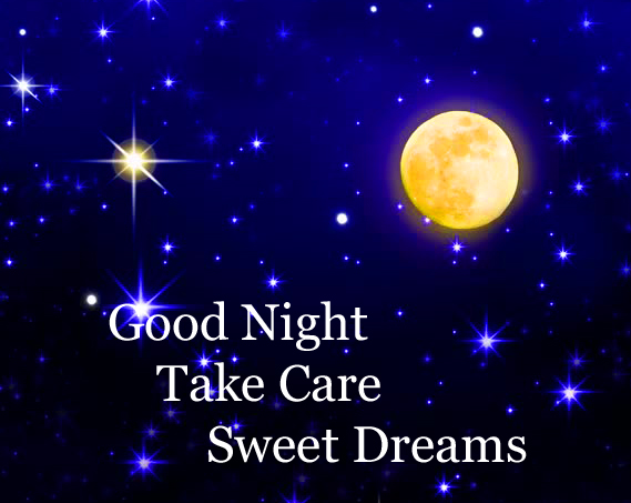 Good Night Wishing Image HD