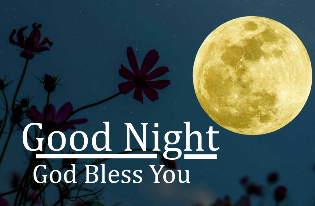 79+ Best Good Night God Bless You Images (Latest Pics)