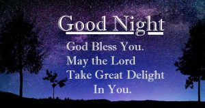 Good Night Wishing with Lovely Quote