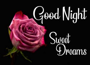 Good Night with Sweet Dreams Message