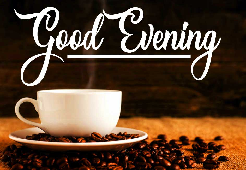 HD Coffee Image with Good Evening
