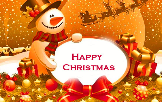 HD Happy Christmas Picture and Wallpaper