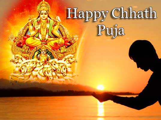 Happy Chhath Puja with Surya Dev Pic