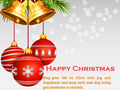 Happy Christmas Happiness Quote Image