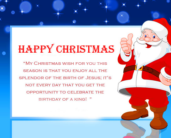 Happy Christmas with Best Quote