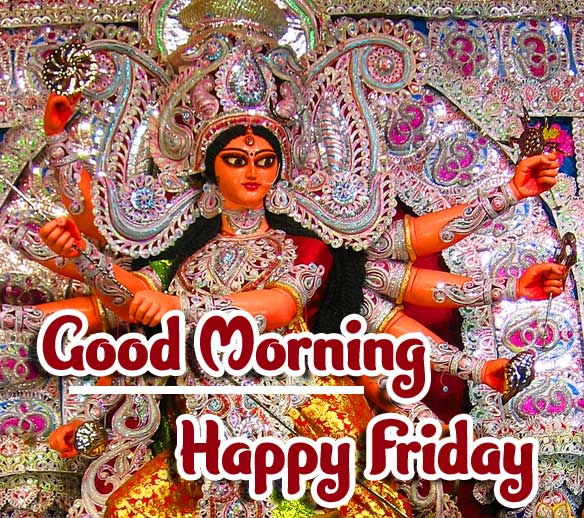 Happy Friday Durga Maa Picture HD
