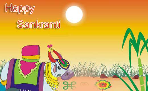 Happy Sankranti HD Image and Wallpaper
