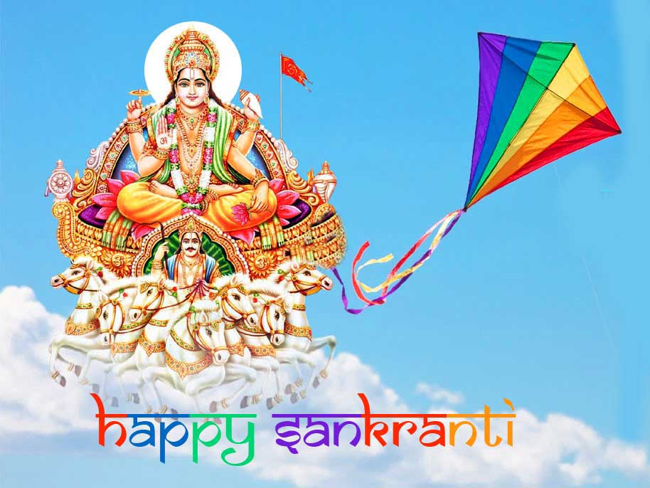 Happy Sankranti HD Wallpaper