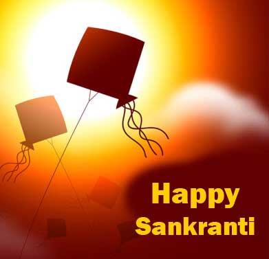 Happy Sankranti with Sunshine Kite Pic
