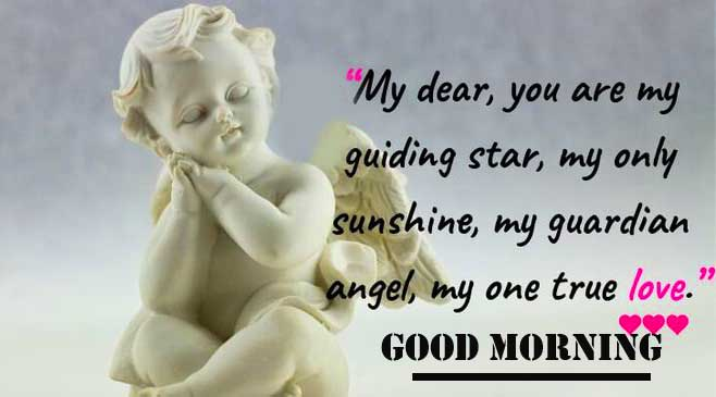Heart Touching Quote with Good Morning Wishing