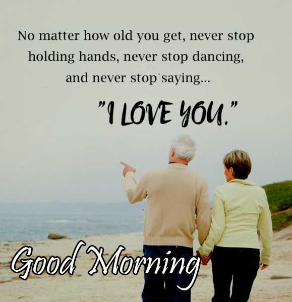 Inspiring Quote with Good Morning Wishing