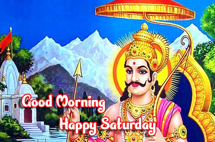 Lord Shani Dev Good Morning Message with Happy Saturday Wishing Copy