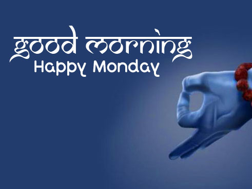 Lord Shiva Good Morning Happy Monday Wish