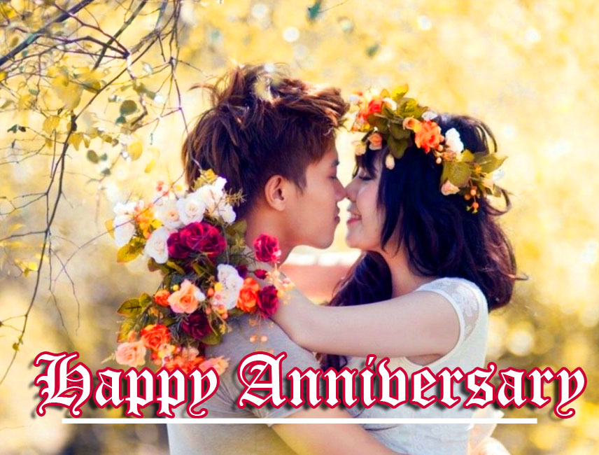 Love Couple Happpy Anniversary Wallpaper