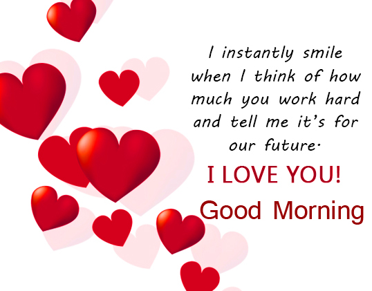 Love Good Morning Message for Him
