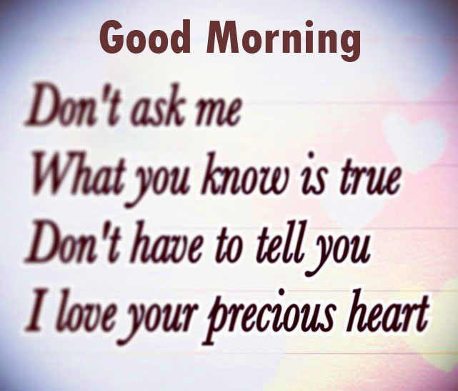 Love Quote Good Morning Image